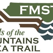 Construction starting on Mountains-to-Sea Trail bridge in Price Park along the Blue Ridge Parkway