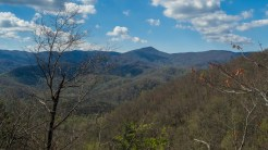 View from Laurel Falls Trail