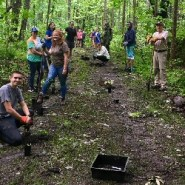 Local Students Help with Elkmont Historic District Project at Smokies National Park