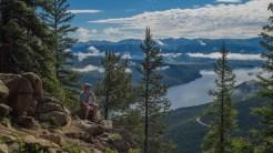 Viewing Turquoise Lake