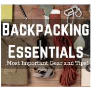 Backpacking Essentials Infographic