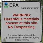 Military bases' contamination will affect water for generations