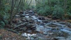A rocky creek
