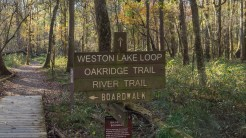 Oakridge trailhead