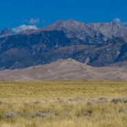 Drilling, one mile outside Colorado's Great Sand Dunes