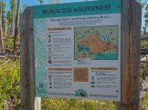 Entering Black Elk Wilderness