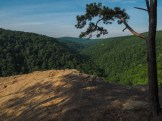 View from Hawksbill Crag