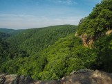 From the edge of Hawksbill Crag