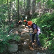 Trillium Gap Trail Rehabilitation Begins May 13, 2019 at Smokies Park