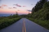 Black Balsam spur road