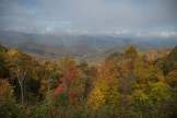 One of my favorite overlooks on the Parkway is Hominy Valley