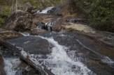 Side view Wintergreen Falls