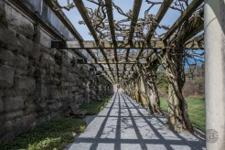 Lattice walkway