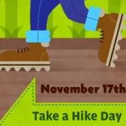 Celebrate National 'Take a Hike Day' this Nov. 17, 2020