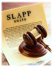 anti-SLAPP does not protect defamatory speech
