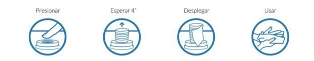 Toallitas refrescantes individuales personalizadas