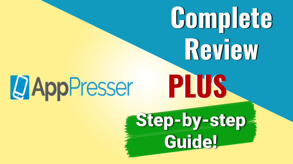 Complete Review of AppPresser App Builder