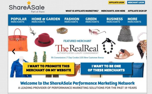 ShareASale Branding