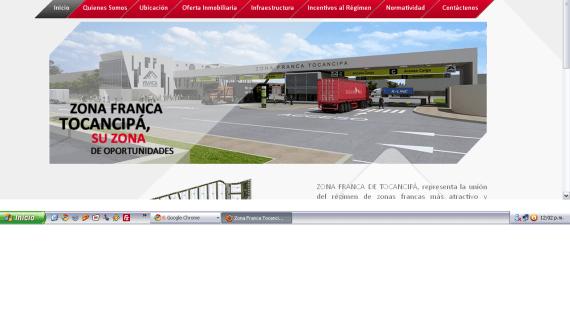 """Zona Franca de Tocancipá: """"Estamos en operación"""""""