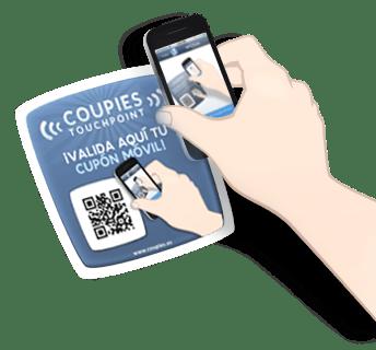 Usuarios de cupones los canjean a través del móvil