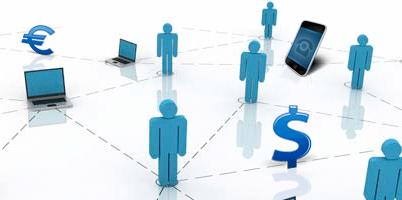 Servicios financieros se animan a tener presencia social