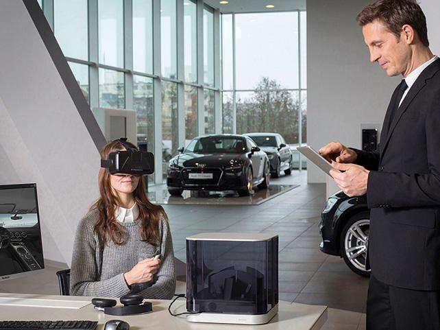 Los minoristas y los pasos para abrazar la realidad virtual