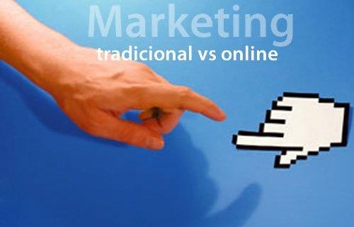 Infografía: Diferencias entre marketing offline y online