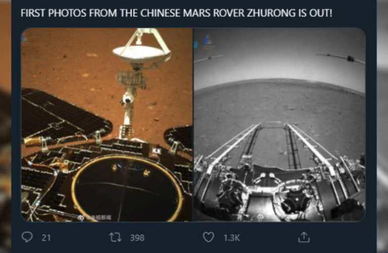 Már a Marson is ott vannak a kínaiak – sikeresen landolt a kínai marsjáró