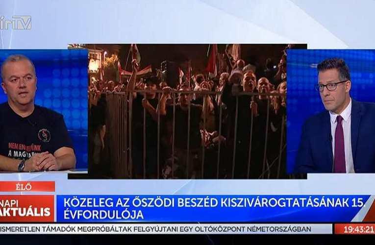 Gaudi: 2006-ban tudatos csapaterős harcászat zajlott polgárok tömegei ellen – 15 éve szivárgott ki Gyurcsány beszéde 📺