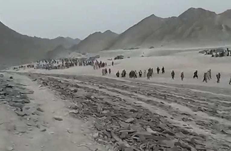 Migránsok tömegei indultak útnak Afganisztánból 📺