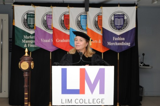 lim college streams virtual commencement honors aerie executive dvf - LIM College Streams Virtual Commencement, Honors Aerie Executive, DVF