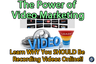 The Power of Video Marketing - Learn WHY You SHOULD Be Recording Videos Online!!