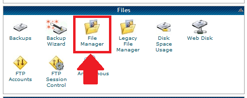 Login to your Hosting cPanel >> File Manager