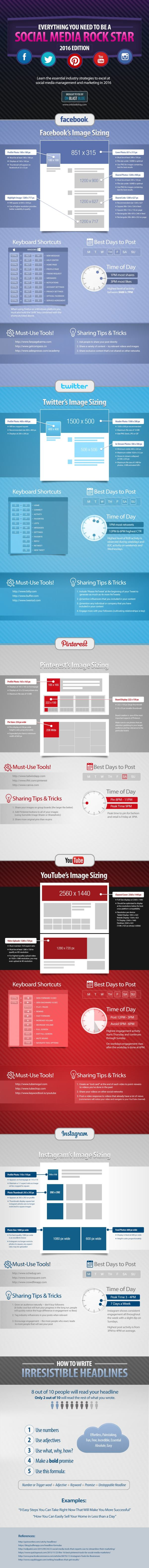 How to Optimize Your Social Media Posts (Infographic)