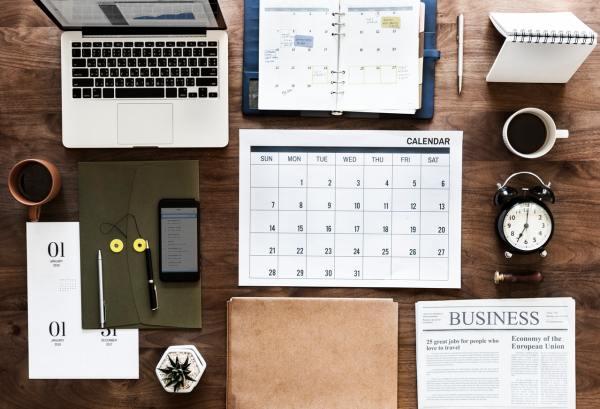 Keep a work schedule