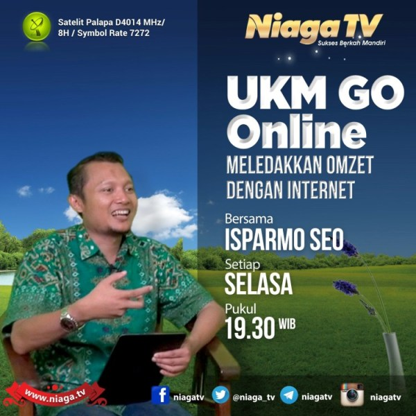 Nara Sumber Pembicara SEO Internet Marketing Niaga TV