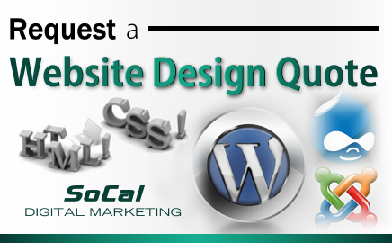 Web Design Quote teal - Marketing Companies in Southern California