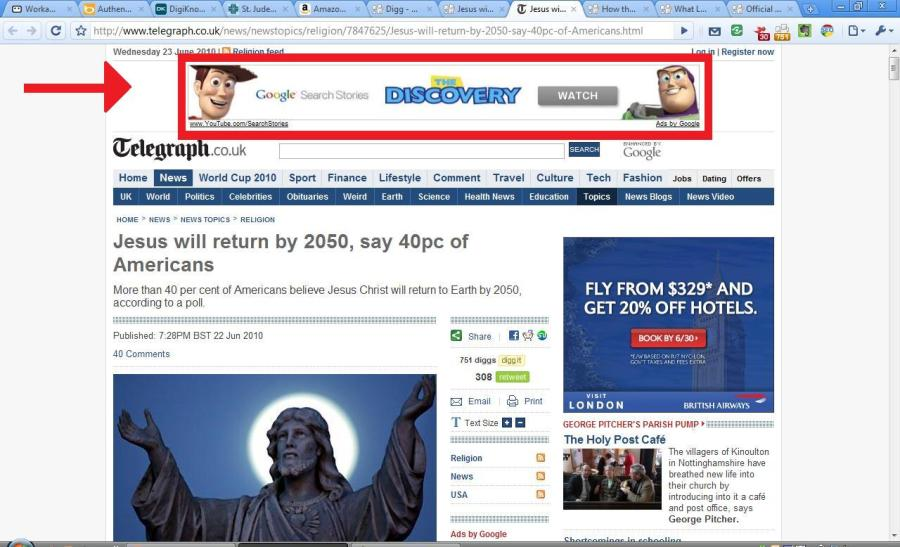 ad for an ad w a - Banner Advertising