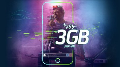grameenphone 148tk 3gb internet