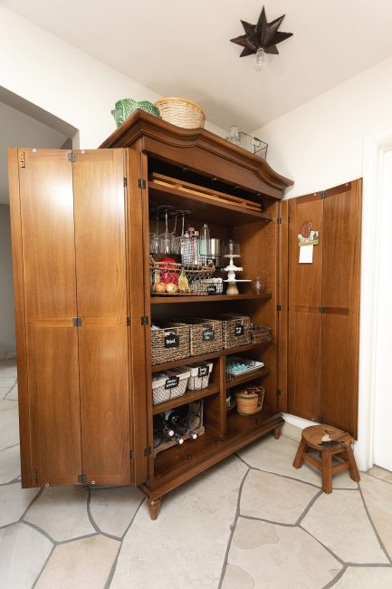 Elegant Kitchen Pantries Armoire