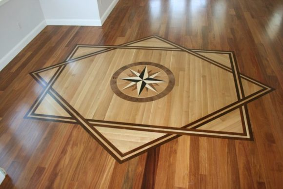 medallion wood pattern