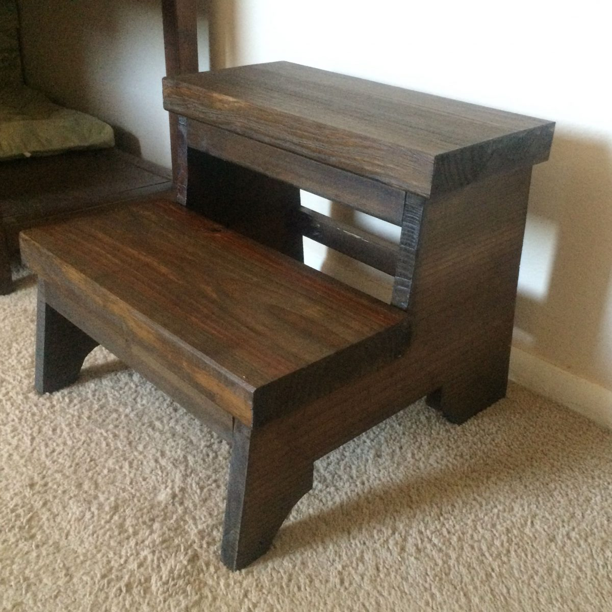 Wood Step Stool