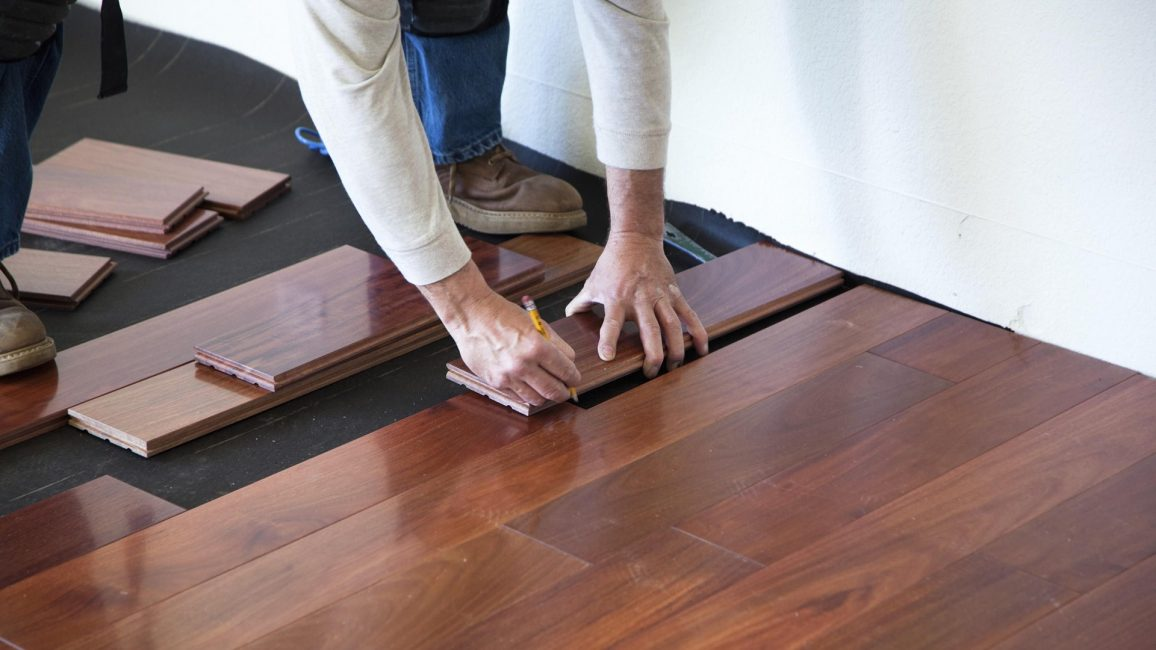 Tongue and Groove Flooring instalation