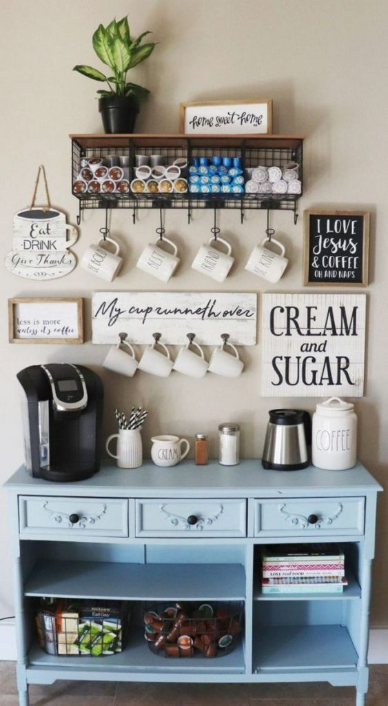 Coffee-Station-In-Kitchen-with-More-Storage