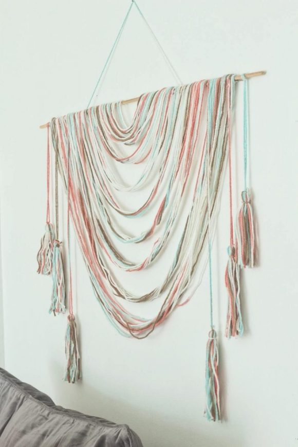 Draped-String-Wall-Hanging