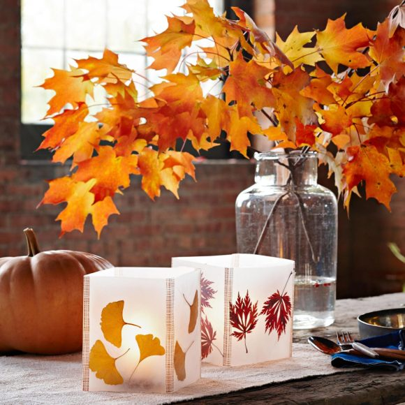 Lanterns-of-Wax-Paper-for-Fall-Craft-Ideas