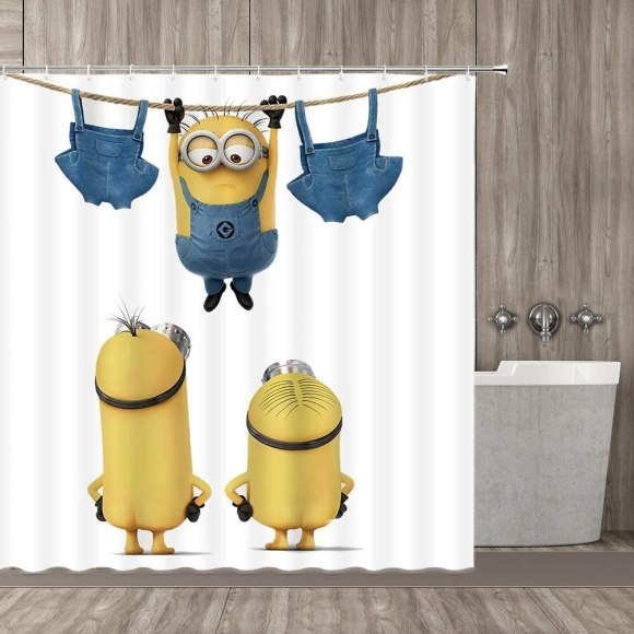 Minion-Mischief-Patterned-Fabric