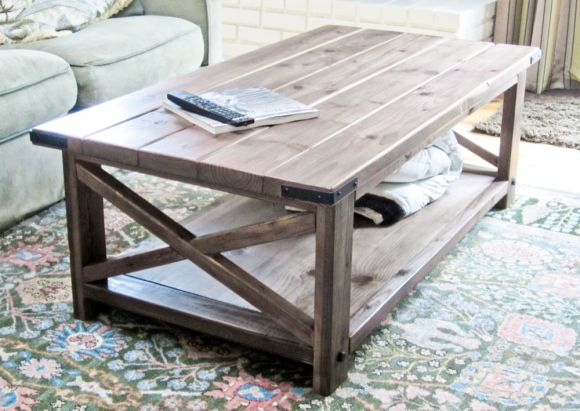 Rustic-X-Design-for-Coffee-Table