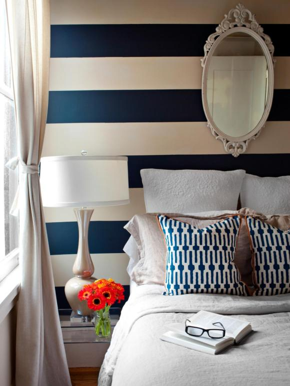 White-Bedroom-with-Striped-Walls