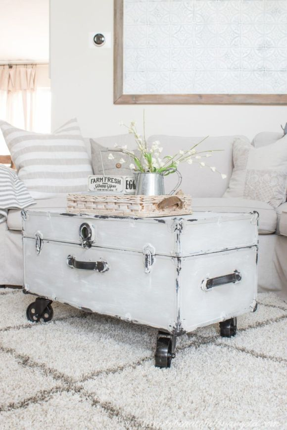 White-Washed-Trunk-Coffee-Table-with-Casters